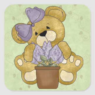 Cute Teddy Bear Stickers