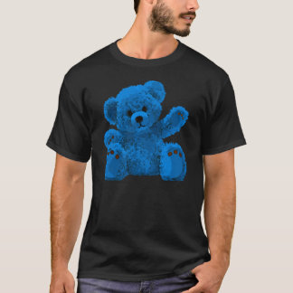 Cute teddy Bear, teddy bear, blue T-Shirt