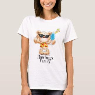 Cute Teddy Bear with Cocktail Shirt