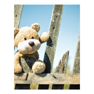 Cute Teddy Letterhead