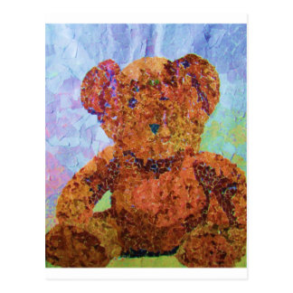 Cute Teddy Postcard
