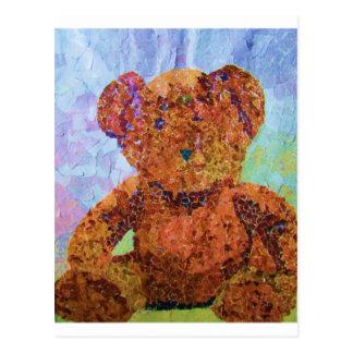 Cute Teddy Postcard