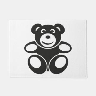 Cute Teddy with a Smile Doormat