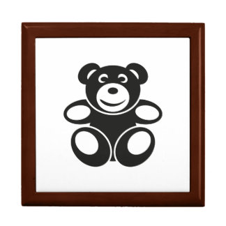 Cute Teddy with a Smile Gift Box