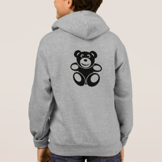 Cute Teddy with a Smile Hoodie