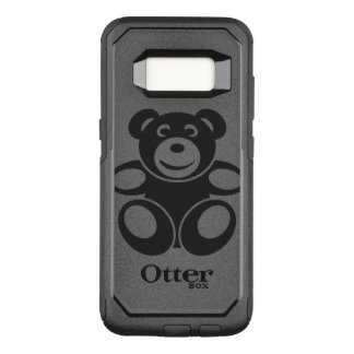 Cute Teddy with a Smile OtterBox Commuter Samsung Galaxy S8 Case