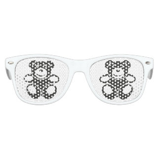 Cute Teddy with a Smile Party Sunglasses