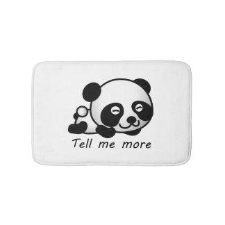 Cute Tell me more Panda Bath Mat