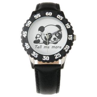Cute Tell me more Panda Watch