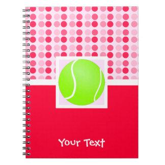 Cute Tennis Ball Notebooks