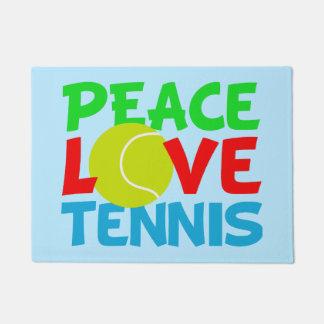 Cute Tennis blue Doormat