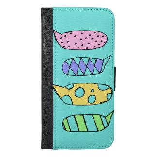 cute.text iPhone 6/6s plus wallet case