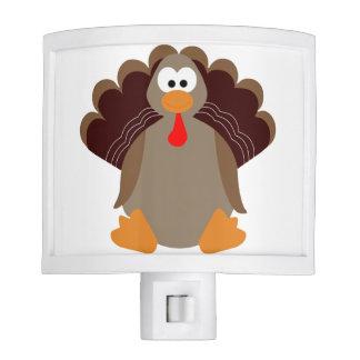 Cute Thanksgiving Turkey Night Lite