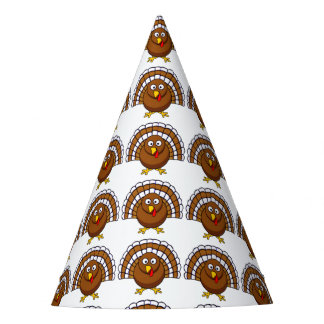 Cute Thanksgiving Turkey Party Hats