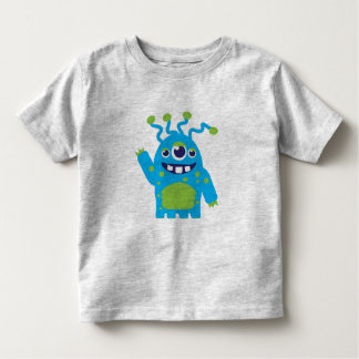 Cute three eyed alien toddlers t-shirt