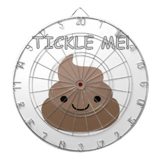 Cute Tickle Me Poop Emoji Dartboard