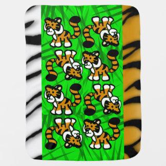 Cute Tiger Baby Blanket