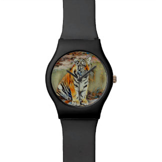 Cute Tiger Baby by JamColors Watch