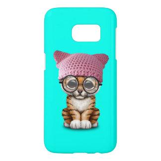 Cute Tiger Cub Wearing Pussy Hat Samsung Galaxy S7 Case