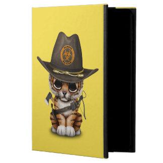 Cute Tiger Cub Zombie Hunter Powis iPad Air 2 Case