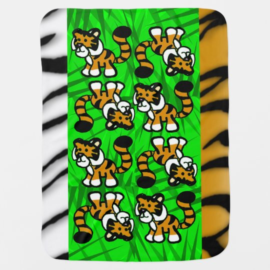 Cute Tiger Swaddle Blankets