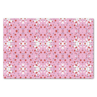 Cute Tissue Paper Strawberries and Cream