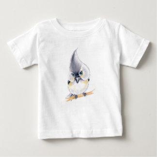 Cute Titmouse Art Baby T-Shirt