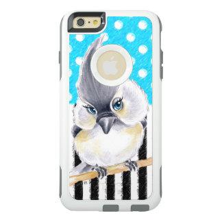 Cute Titmouse Polka Dot OtterBox iPhone 6/6s Plus Case