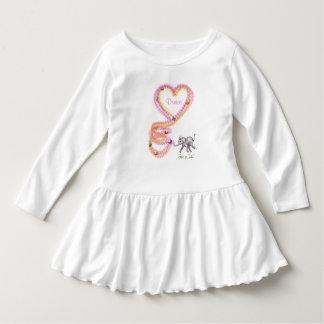Cute Toddler Ruffle Dress - Fanti