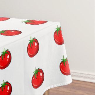 Cute tomato pattern tablecloth