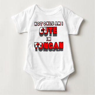 Cute Tongan kid1 Baby Bodysuit