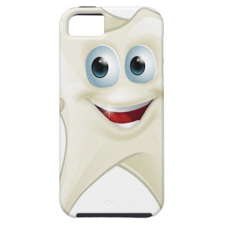 Cute tooth dental mascot iPhone 5 cover