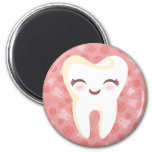 Cute Tooth - Pink Magnet