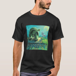 Cute Tortoise and the Hare Art T-Shirt