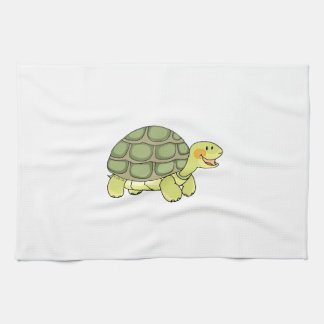 Cute tortoise kitchen towel