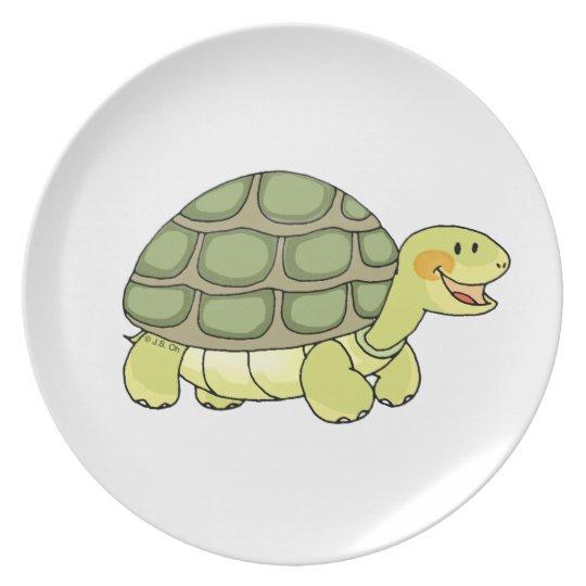 Cute tortoise plate
