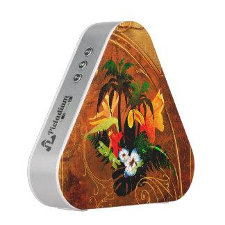 Cute toucan with flowers speaker