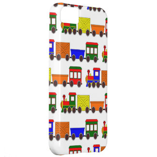 Cute Train Design - Blue Red Green Orange Yellow iPhone 5C Covers
