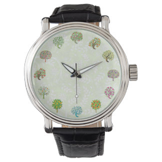 Cute Tree Design Gardener Watch