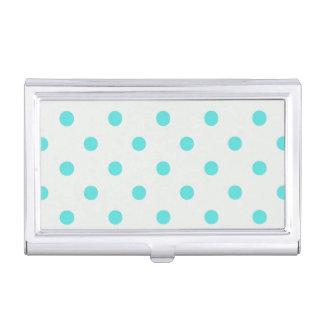 Cute Trendy Polka Dots Business Card Holder
