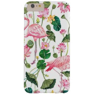 cute tropical flamingo case