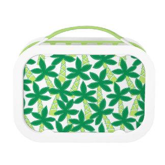 Cute tropical palm trees lunch box