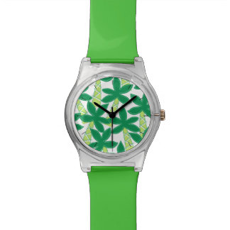Cute tropical palm trees watches