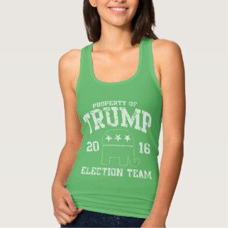 Cute Trump 2016 Republican Election Team Tank Top