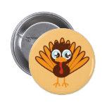 Cute Turkey Pin