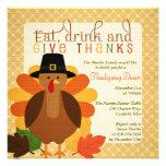Cute Turkey Thanksgiving Dinner