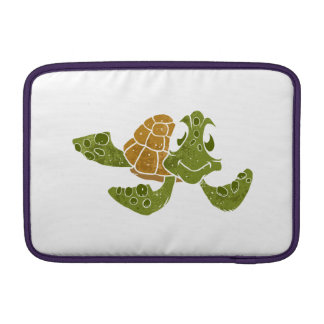 Cute turtle cartoon. MacBook air sleeves