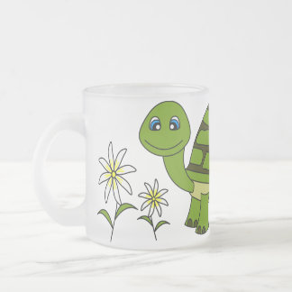 Cute Turtle Cartoon Mug