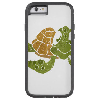 Cute turtle cartoon. tough xtreme iPhone 6 case