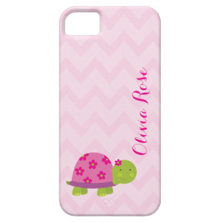 Cute Turtle Pink Personalized Iphone5 case